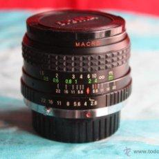 Cámara de fotos: ANGULAR CLUBMAN 24MM 1:2,8 MACRO (BAYONETA OLYMPUS). Lote 48873814