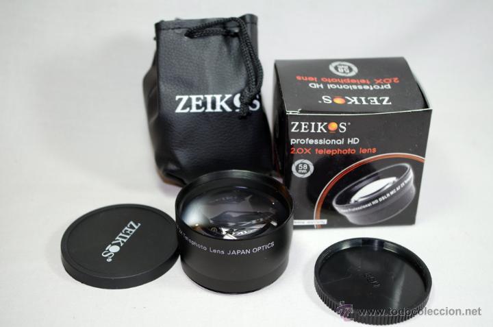 Cámara de fotos: Objetivo zoom Olympus Zuiko Digital 40-150 1:4-5,6 + extras - Foto 3 - 49272411