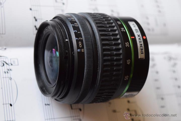 Cámara de fotos: Pentax SMC ,metal Bajonet 18-55.IMpecable. - Foto 3 - 49300181