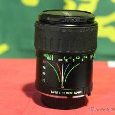 Cámara de fotos: ZOOM VIVITAR 28-70MM F:3,5-4,5 (BAYONETA MINOLTA MD). TAPAS ORIGINALES.. Lote 50102639