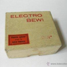 Cámara de fotos: CAJA VACIA DEL FOTOMETRO ELECTRO BEWI. MODEL ESPECIAL PARA LA CAMARA LEICA. Lote 50617699