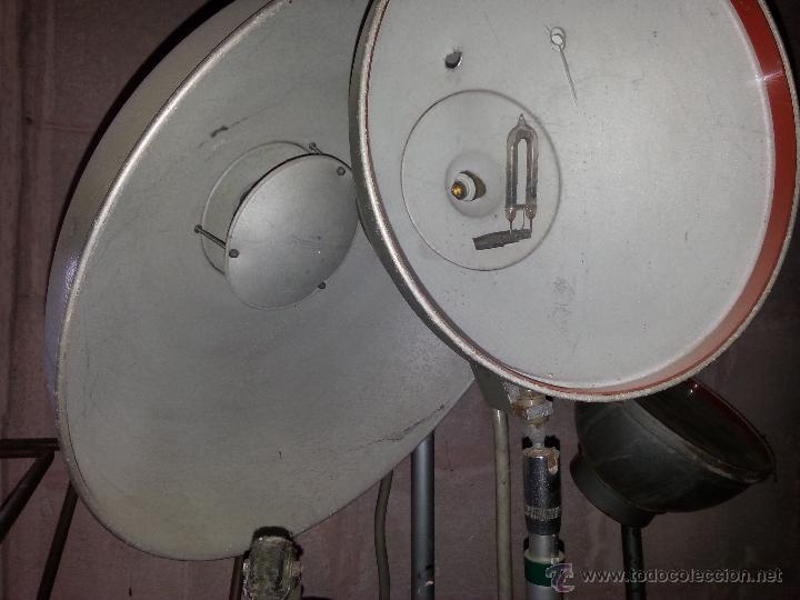 Cámara de fotos: ANTIGUO EQUIPO ILUMINACIÓN DE ESTUDIO FOTOGRÁFICO DINADUX G/8 - Foto 6 - 50696196