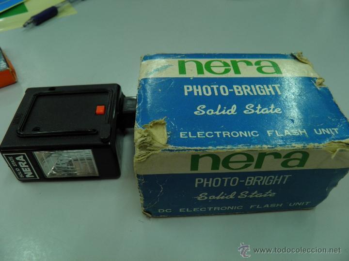 FLASH NERA PHOTO BRIGHT SOLID STATE (Cámaras Fotográficas Antiguas - Objetivos y Complementos )