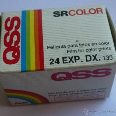 Cámara de fotos: CARRETE FOTOGRAFIA COLOR QSS 24 EXPOSICIONES - NUEVO - CADUCADO. Lote 50915307