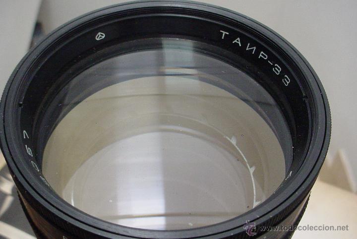 Cámara de fotos: Teleobjetivo Tair 33 de 300m.m. para camara de 6X6 Kiev 88 - Foto 4 - 51085456