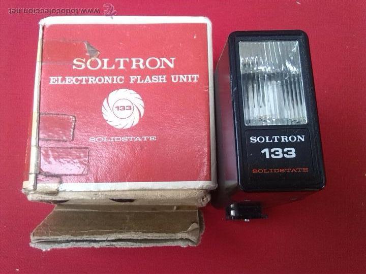 ELECTRONIC FLASH UNIT **** SOLTRON 133 (Cámaras Fotográficas Antiguas - Objetivos y Complementos )