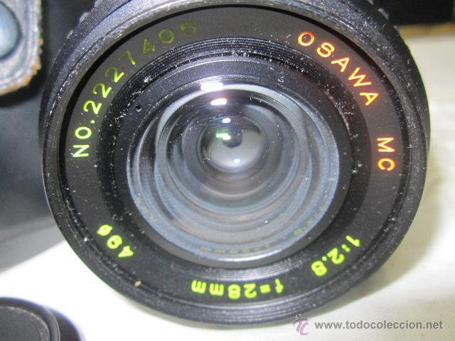 Cámara de fotos: Objetivo OSAWA - MC - 1:2.8, con su estuche. 49mm - Foto 2 - 51811238