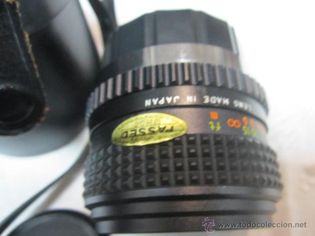 Cámara de fotos: Objetivo OSAWA - MC - 1:2.8, con su estuche. 49mm - Foto 3 - 51811238
