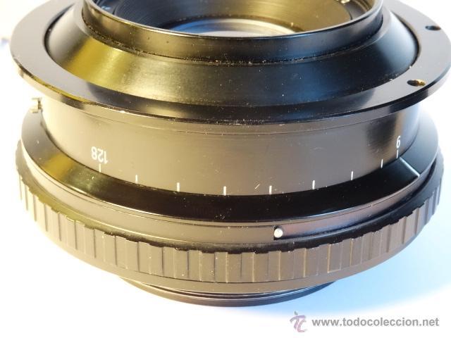 Cámara de fotos: Objetivo para gran formato reproduccion colodion carl zeiss jena apo germinar 360mm f9 - Foto 4 - 52870904
