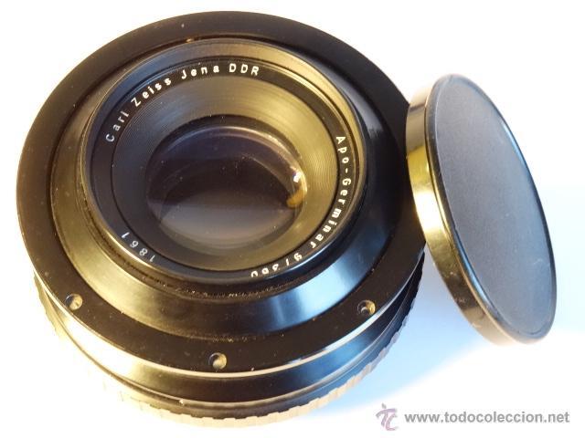 Cámara de fotos: Objetivo para gran formato reproduccion colodion carl zeiss jena apo germinar 360mm f9 - Foto 6 - 52870904