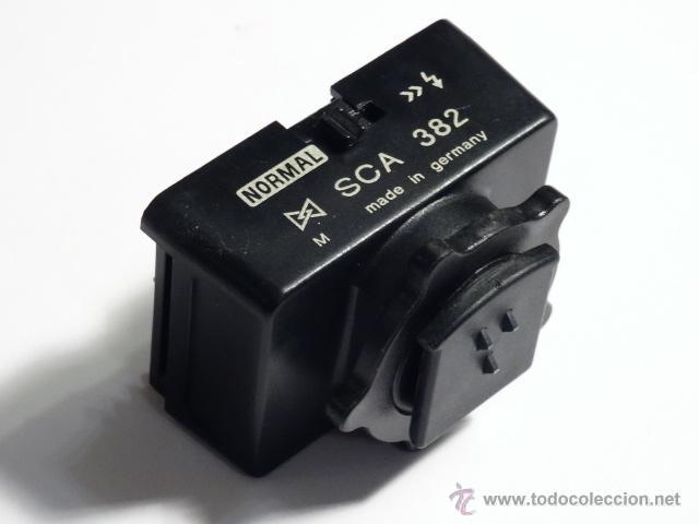 Cámara de fotos: Metz adaptador para Flash ttl sca 382 para contax y yashica - Foto 3 - 53046882