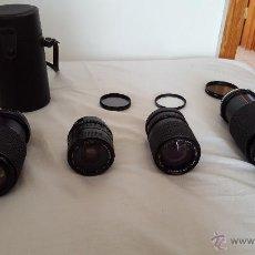 Cámara de fotos: 4 OBJETIVOS Y 3 FILTROS.. Lote 53344912