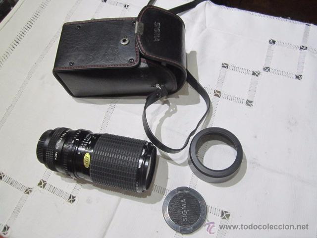 Cámara de fotos: Objetivo Sigma Zoom, con su estuche. - Foto 2 - 53884394