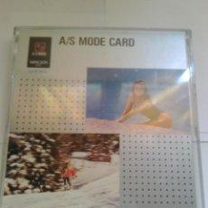 Cámara de fotos: TARJETA MINOLTA A/S MODE CARD . Lote 54063652