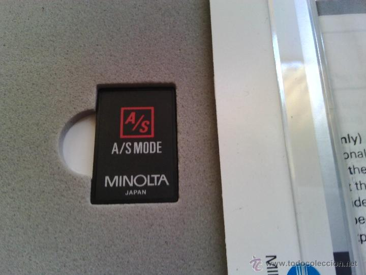 Cámara de fotos: TARJETA MINOLTA A/S MODE CARD - Foto 2 - 54063652