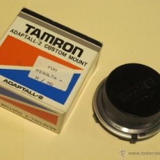 Cámara de fotos: ADAPTADOR TAMRON ADAPTALL-2 -- PARA MINOLTA M / MD . Lote 54454181