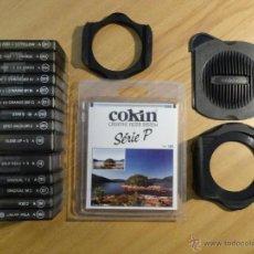 Cámara de fotos: LOTE DE 15 FILTROS CREATIVOS COKIN Y 2 PORTAFILTROS. Lote 54734449