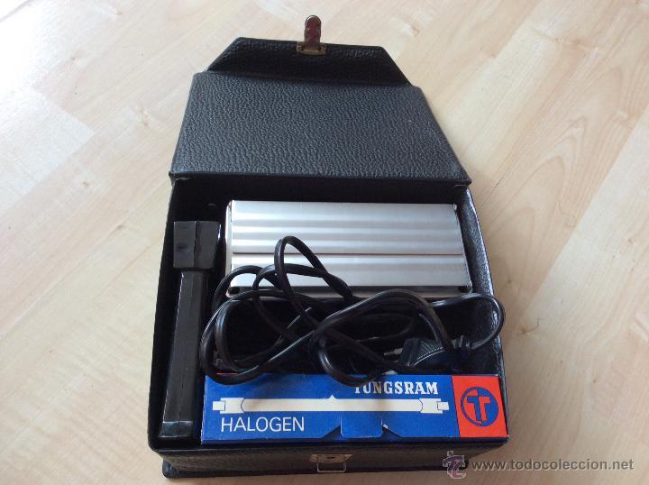 Cámara de fotos: Foco halogeno ML 1000W de mano compacto + luz de repuesto + caja - Foto 2 - 54921965