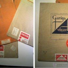 Cámara de fotos: CURIOSIDAD, LOTE DE 7 ANTIGUOS SOBRES DE PAPEL FOTOGRAFICO. Lote 55052597