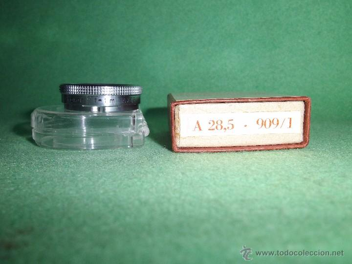 Cámara de fotos: LENTE ZEISS IKON 1955 A G STUTTGART MADE GERMANY ADICIONAL PARA CORTAS DISTANCIAS PROXAR F=1m A28,5 - Foto 6 - 55058489