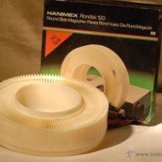 Cámara de fotos: HANIMEX RONDEX 120ROUND SLIDE MAGACIN. Lote 55080129