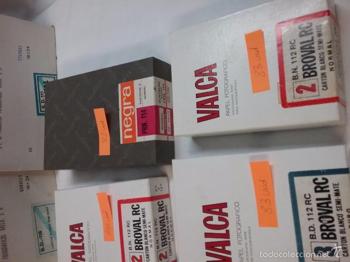 Cámara de fotos: LOTE PAPEL FOTOGRÁFICO MARCA VALCA - Foto 3 - 55324582