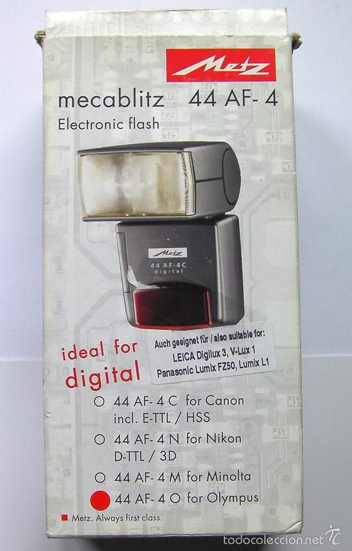 Cámara de fotos: Flash con TTL para camara fotografica digital Metz mecabliz 44 AF-4 para Olympus-Leica-Panasonic - Foto 3 - 55805510