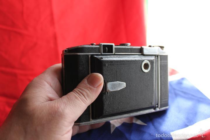 Cámara de fotos: Cámara Royer (objetivo Angenieux) + funda de cuero - Foto 3 - 55933963