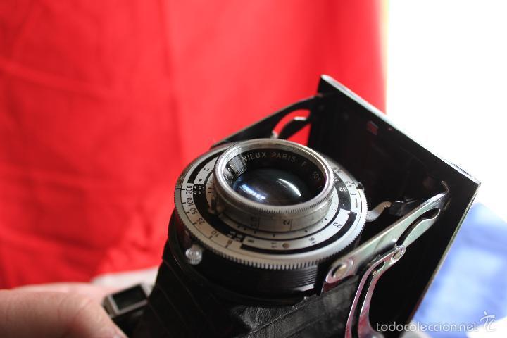 Cámara de fotos: Cámara Royer (objetivo Angenieux) + funda de cuero - Foto 9 - 55933963