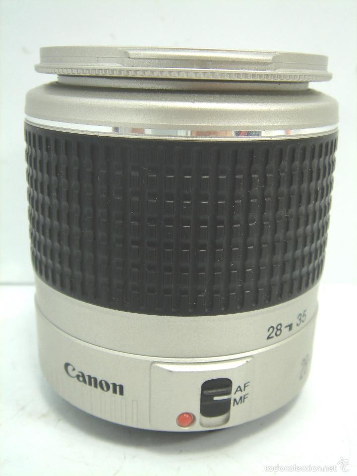 OBJETIVO CANON EF - 28/90 1.4-5.6 (58) - ¡¡ FUNCIONANDO¡¡ MBE . ZOOM (Cámaras Fotográficas Antiguas - Objetivos y Complementos )