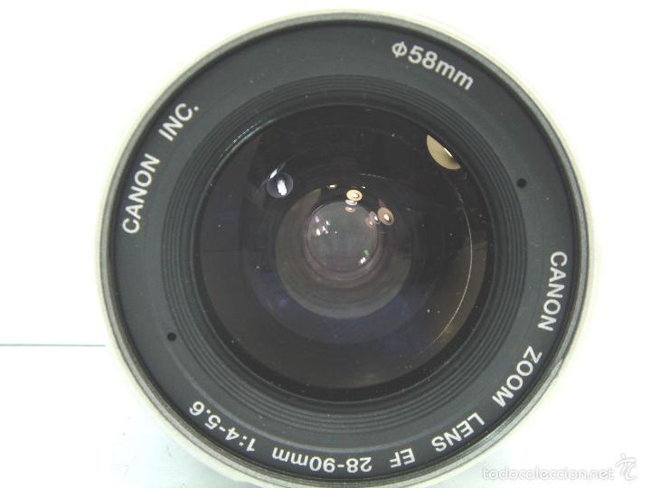 Cámara de fotos: OBJETIVO CANON EF - 28/90 1.4-5.6 (58) - ¡¡ FUNCIONANDO¡¡ MBE . ZOOM - Foto 3 - 55943020
