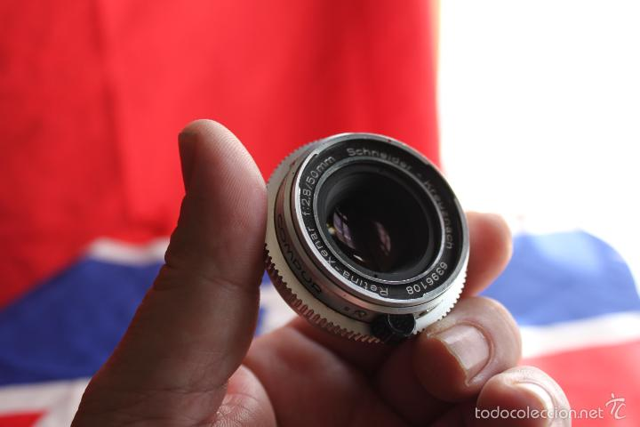 OBJETIVO SCHNEIDER XENAR 50MM F:2,8 (PARA KODAK RETINA REFLEX) (Cámaras Fotográficas Antiguas - Objetivos y Complementos )