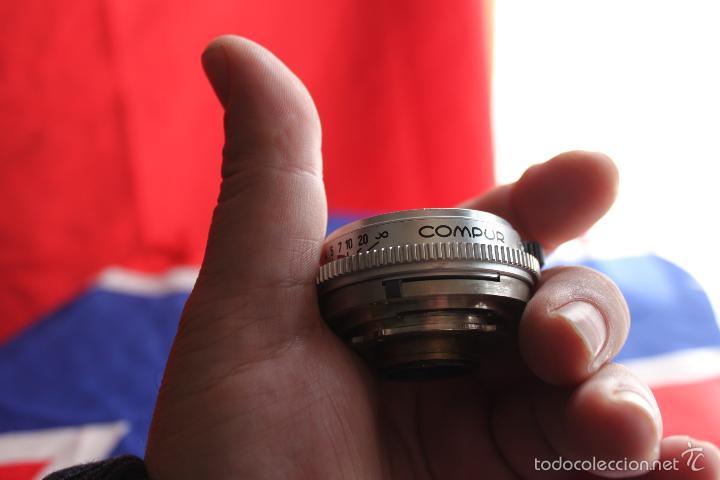 Cámara de fotos: Objetivo Schneider Xenar 50mm F:2,8 (para Kodak Retina Reflex) - Foto 3 - 124399243