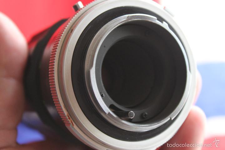 Cámara de fotos: Tele Rokkor 200 mm F:4 (bayoneta Minolta MD) (tapas originales) - Foto 5 - 55974768