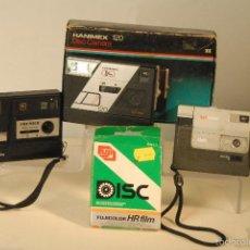 Cámara de fotos: 3 CAMARAS DISC -PC-30 PREMIER-DISC 100- HANIMEX DISC 120 CAJA. Lote 57047916