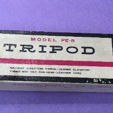 Cámara de fotos: ANTIGUO TRÍPODE KALIMAR - MODELO PE-8 (MADE IN JAPAN) - AÑOS 60/70. Lote 57329088