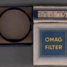 Cámara de fotos: 19-OMAG FILTER - FILTRO DE 35 MM INCOLORO MODELO Nº 305 DE FABRICACION SUIZA SIN LA CAJA DE BAQUELIT. Lote 58289988