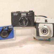 Cámara de fotos: 3 CAMARAS WERLISA CLUB COLOR -NERASPORT 3X4- CONICA F.V MINI. Lote 58490815
