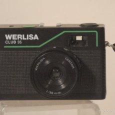 Cámara de fotos: CAMARA WERLISA CLUB -35-FUNCIONA. Lote 59853960