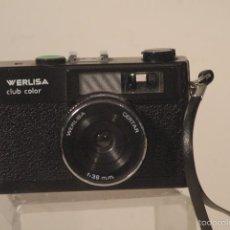 Cámara de fotos: CAMARA WERLISA CLUB COLOR -NEGRA. Lote 59854728