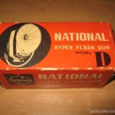 Cámara de fotos: HYPER FLASH GUN NATIONAL MODEL D. Lote 60334259