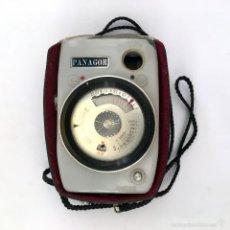 Cámara de fotos: FOTOMETRO PANAGOR DE BAQUELITA CON FUNDA - DIN - ASA - AÑOS 1960 60 - MADE IN JAPAN 10 X 6 CM.. Lote 60393555