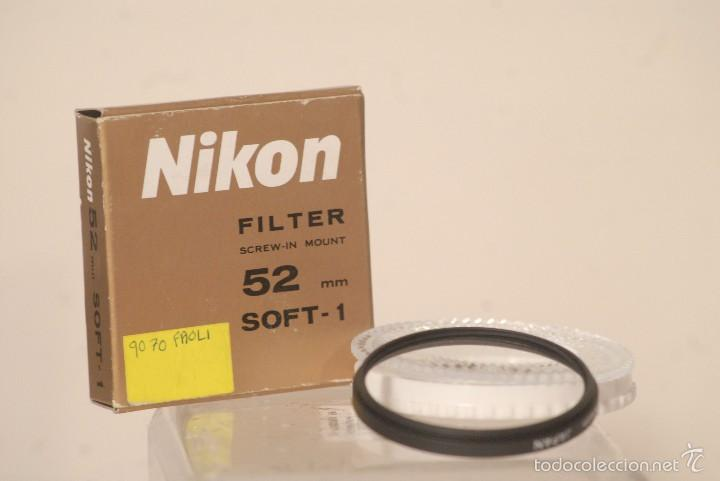 FILTRO NIKON 52.MM SOFT-1 NUEVO (Cámaras Fotográficas Antiguas - Objetivos y Complementos )