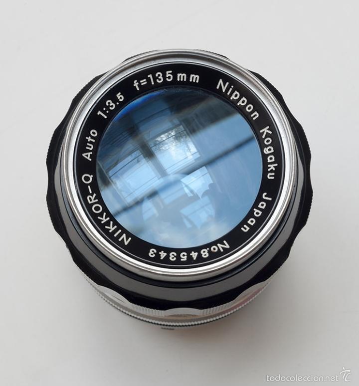 Cámara de fotos: OBJETIVO NIKKOR-Q AUTO 1: 3. 5 F=135MM - Foto 5 - 61312759