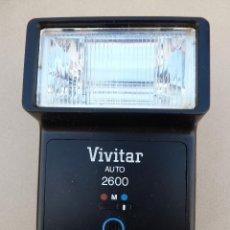 Cámara de fotos: FLASH VIVITAR AUTO 2600. Lote 62018264