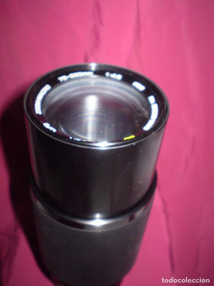 Cámara de fotos: TELEOBJETIVO-ZOOM MACRO. MARCA SOLIGOR 75-200 MM, DIAMETRO 5,2 CMS - Foto 3 - 62030348