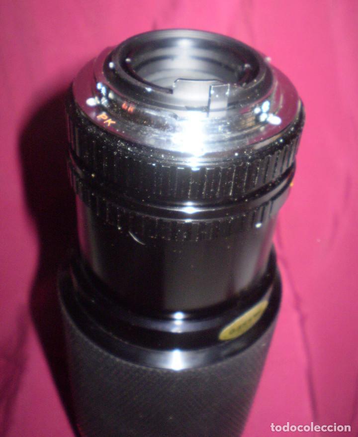 Cámara de fotos: TELEOBJETIVO-ZOOM MACRO. MARCA SOLIGOR 75-200 MM, DIAMETRO 5,2 CMS - Foto 4 - 62030348