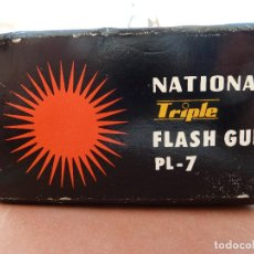 Cámara de fotos: FLASH NATIONAL TRIPLE FALSH GUN PL-7. Lote 62119500