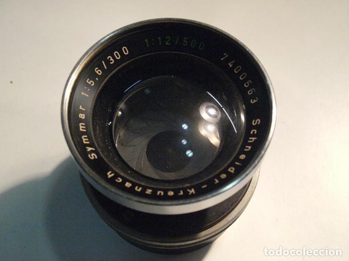 OBJETIVO SCHENIDER SYMMAR EXTRALUMINOSO 300 F/5,6 (Cámaras Fotográficas Antiguas - Objetivos y Complementos )