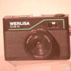 Cámara de fotos: CAMARA WERLISA CLUB -35-FUNCIONA. Lote 63421876